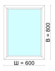 Окно 600х800