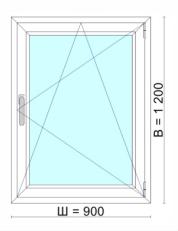 Окно 900х1200